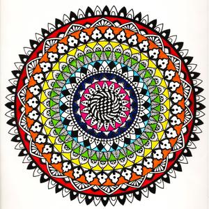 Colorful Multicolor Mandala
