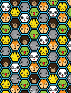 The Jungle Crew Honeycomb