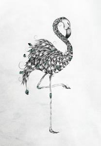 Poetic Flamingo