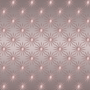 Feminine Rose Quartz Star Design