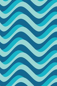 Blue Marine Waves