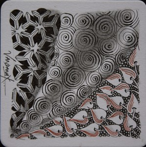 Trio Zentangle