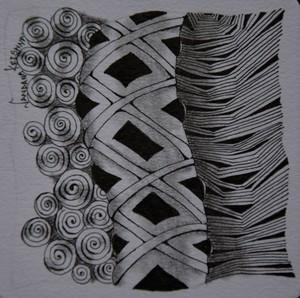 Tubes Zentangle
