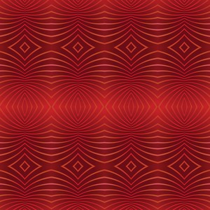Red Rays Abstract Pattern