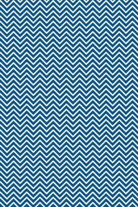 Retro Blue White Pattern