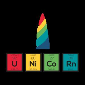 Unicorn Chemical Rainbow Elements 2