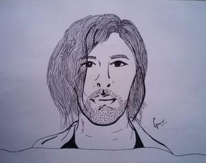 Hozier Hand Drawn Illustration