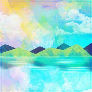 Mountains And Lake Natural Scene