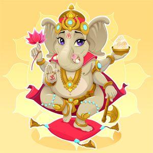 Cute Lord Ganesh