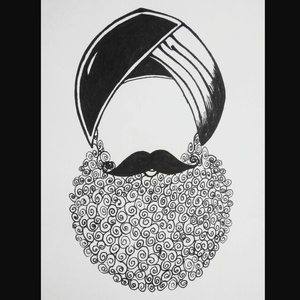 Stylish Singh Beard