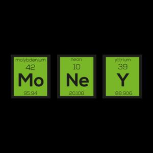 Money Chemical Element Funny On Black