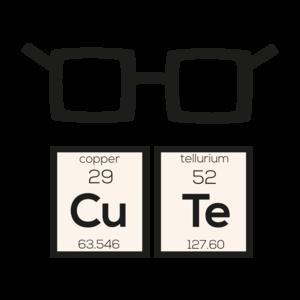 Cute Chemical Element Nerd Glasses