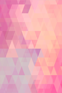 Abstract Pink Triangles