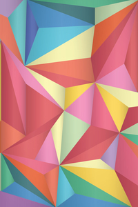 Isometric Abstract Triangles