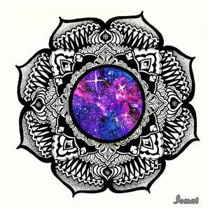 Universal Mandala Print