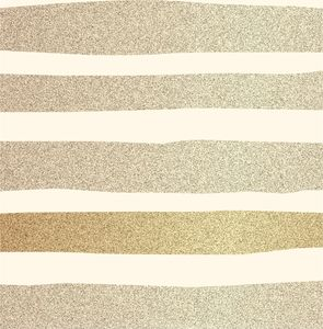 Golden Lines Print