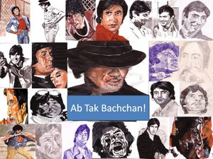 Amitabh Bachchan Collage