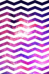 Zigzag Galaxy Pattern