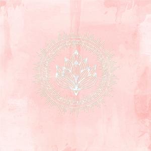 India Boho White Luxury Mandala