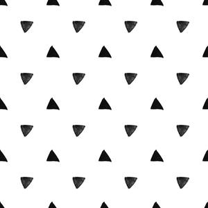 Watercolor Triangle Pattern