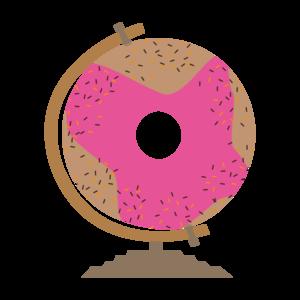 Sweet Donut Globe