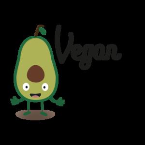 Vegan And Healthy Avocado