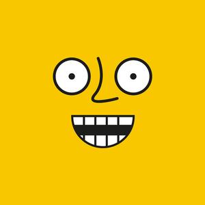 Emoticon 4 On Yellow