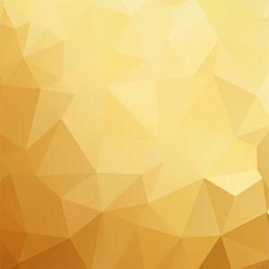 Polygon Golden Tone