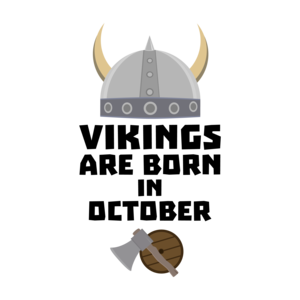 Vikings Are Born In October