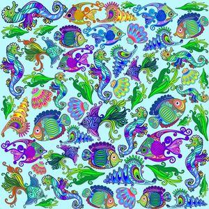 Marine Life Exotic Fishes Seahorses