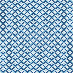 Blue Diamonds Pattern