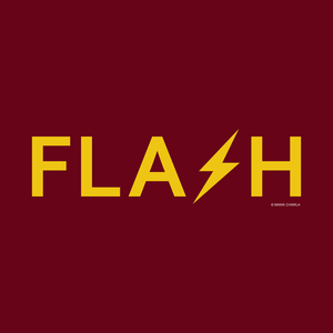 The Flash On Red