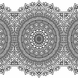 Ornamental Design On White 3