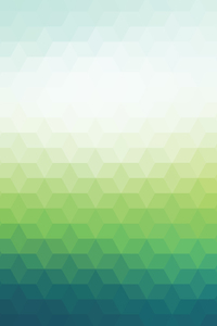 Abstract Green Triangles