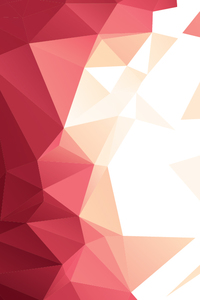 Abstract Red Triangles