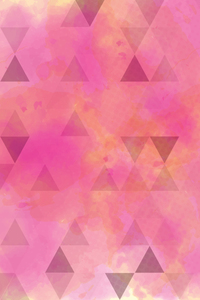Abstract Pink Triangles 2