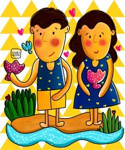 Jenny And Charlie Beach Love