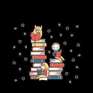Book Family On Black