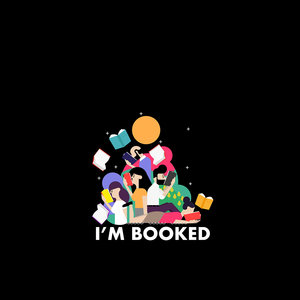 I Am Booked Black