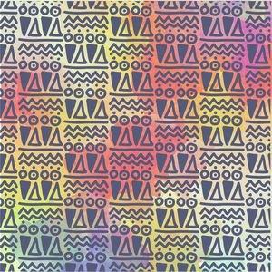 Multicolor Ethnic Design 2