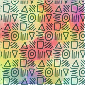 Multicolor Ethnic Design 3