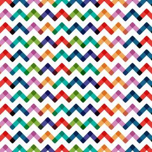 Multicolor ZigZag Lines