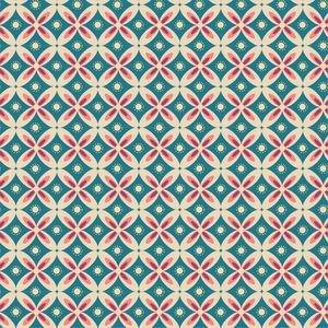Round Flower Pattern