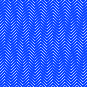 ZigZag Lines On Blue