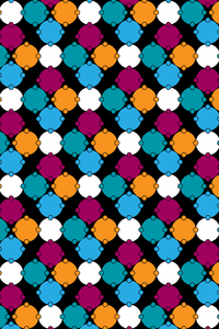 Multicolor Geometric Circles