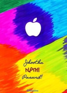 Apple Intact Jhootha Nahi Pasand