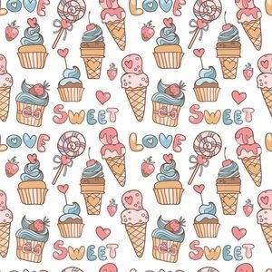 Sweet Love Cake Cone