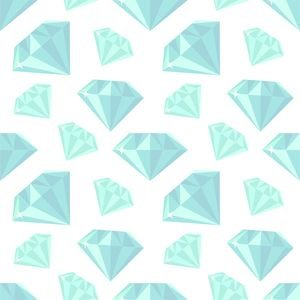 Ice Blue Diamonds
