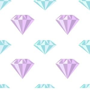 Blue Purple Diamond