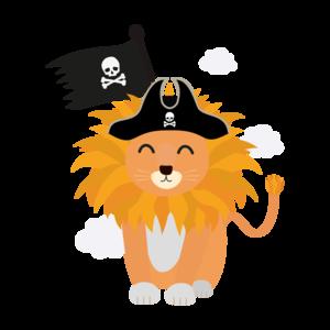 Lion Pirate Captain